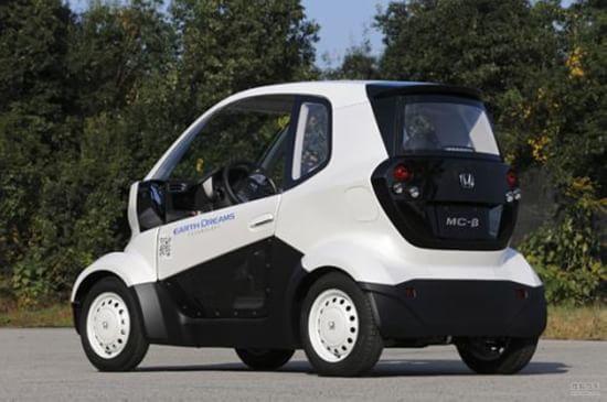 本田/本田MC/β采用了两座的布局,车身的覆盖件都采用塑料制成,...