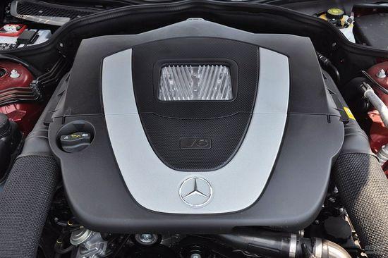 奔驰 SL级 实拍 底盘/动力 图片