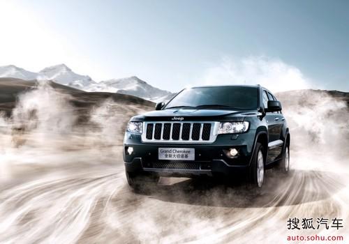 进口jeep全系车型 提前进入大河车展 高清图片