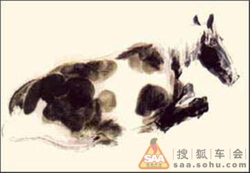 颜梅华动物画技法-卧