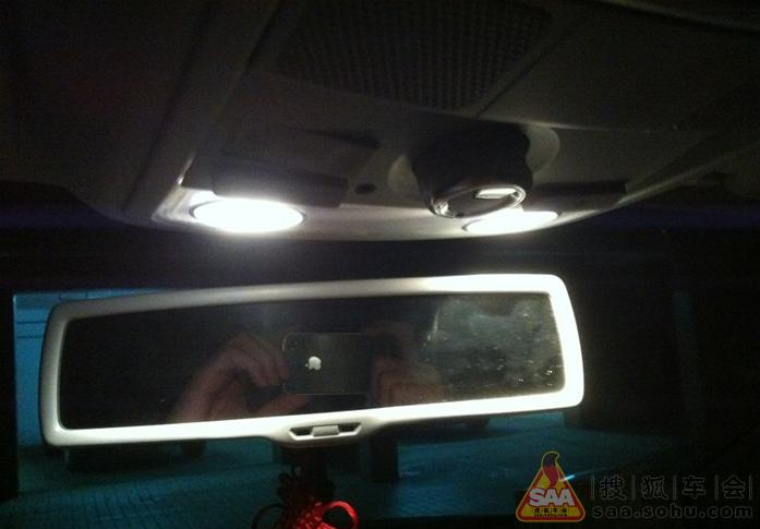 新速腾换阅读灯,后备箱灯及流氓倒车灯.求精