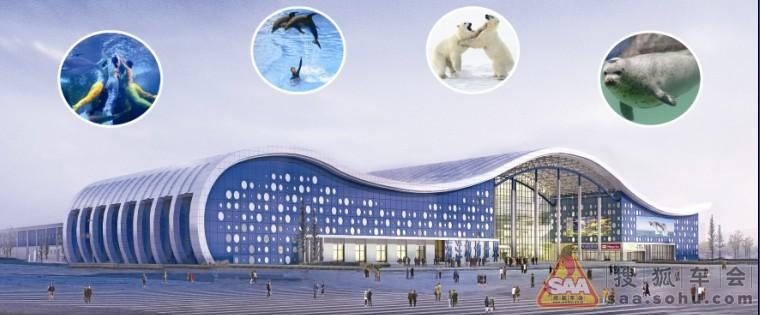 20极地海洋世界自驾游  泉城海洋极地世界坐落于济南北郊齐河县黄河北