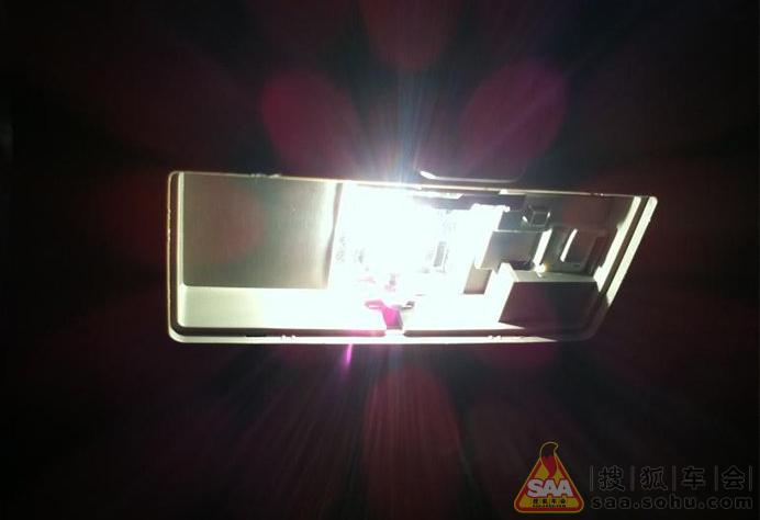 我的爱车更换led室内灯~~自制地线~~小作业_雨燕论坛