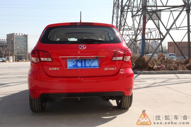 北京首位车主,北京汽车e150顶配提车高清图片