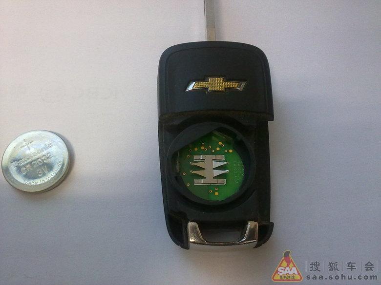遥控钥匙换电池 搜狐车友会高清图片