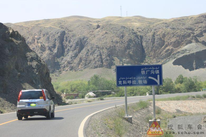 端午节塔城裕民县看山花-路途上篇