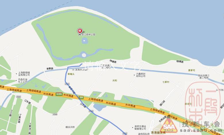 中秋节游览浦东滨江森林公园