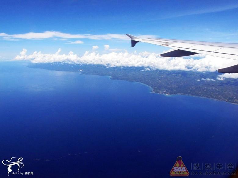 航拍 薄荷岛飞往马尼拉