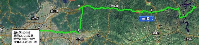 金秋十月,京a军团摩旅河北喜峰口水下长城自驾路书图片