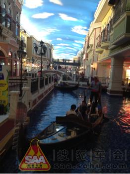 石家庄海悦天地里的水上威尼斯