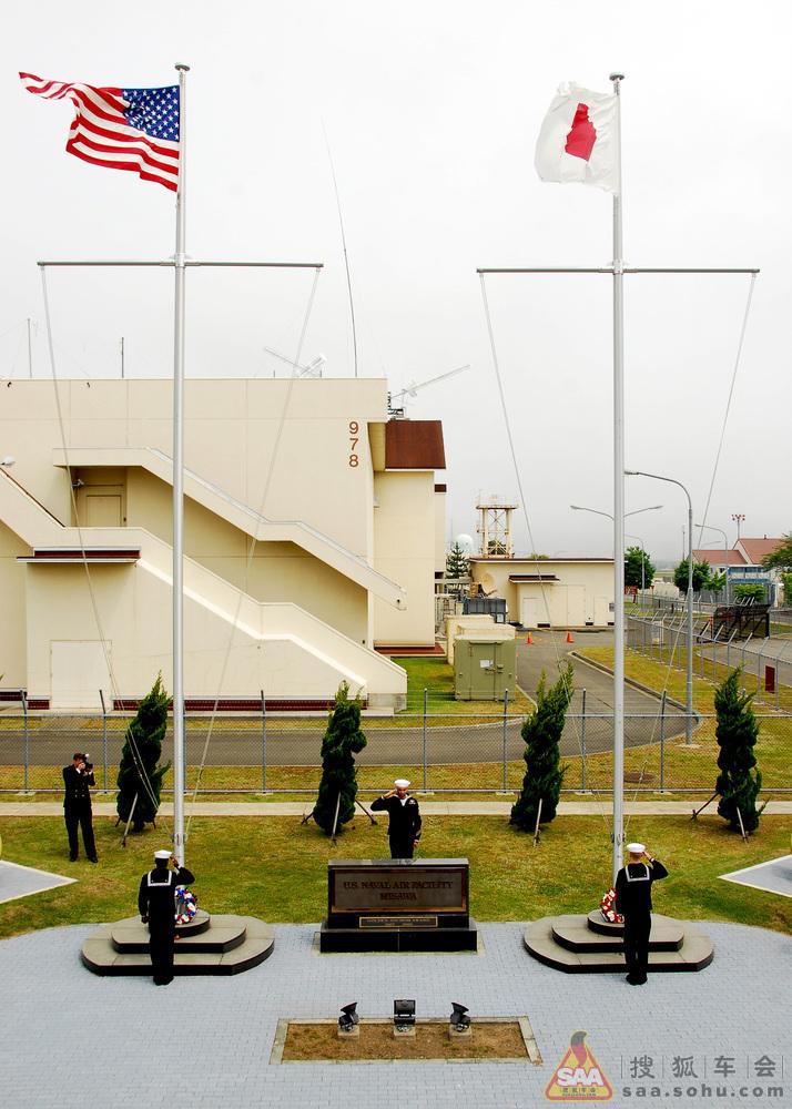 2012年中途岛海战70周年纪念日当天驻日美军三泽基地